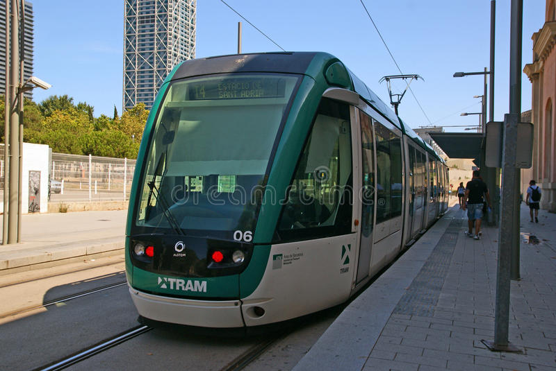 Download Tram editorial photography. Image of street, streetcar - 26757552