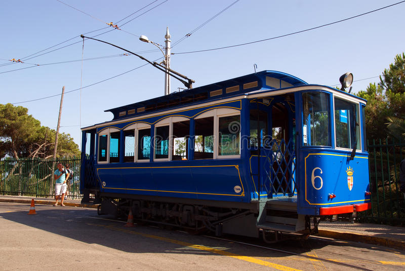 Tram Editorial Stock Photo