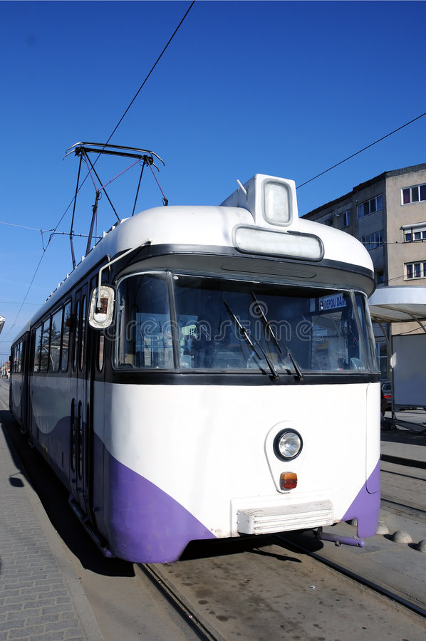 Download Tram stock photo. Image of trolley, light, electric, urban - 4604134