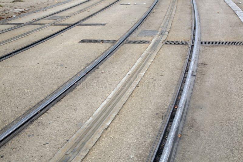 Tram-Bahn, Bordeaux stockfotografie