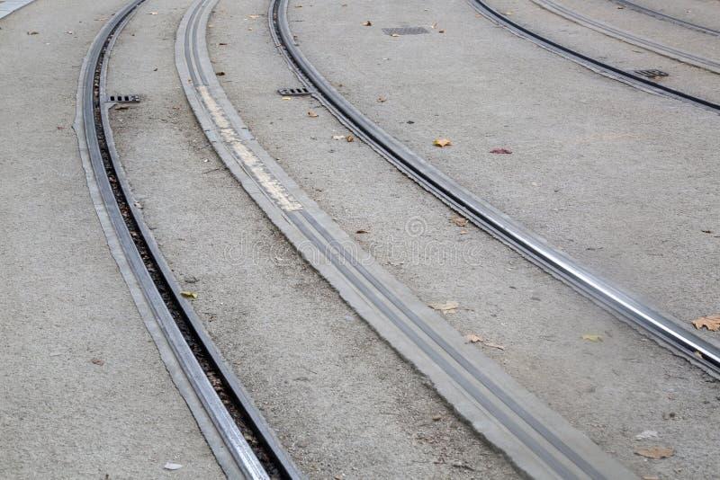 Tram-Bahn im Bordeaux stockfotografie