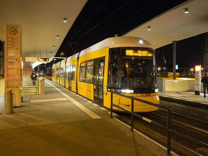 Tram in Berlin, Germany royalty free stock images