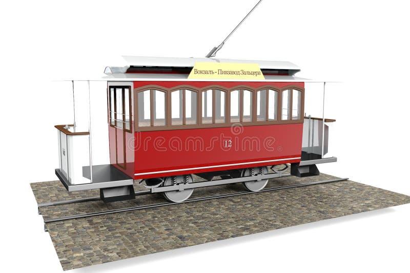 Tram d'Elisavetgrad image libre de droits