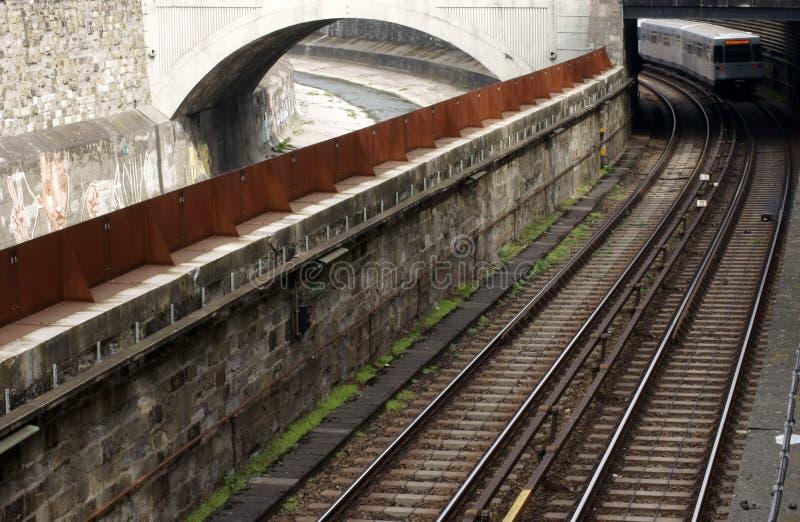 Tram de Vienne image libre de droits