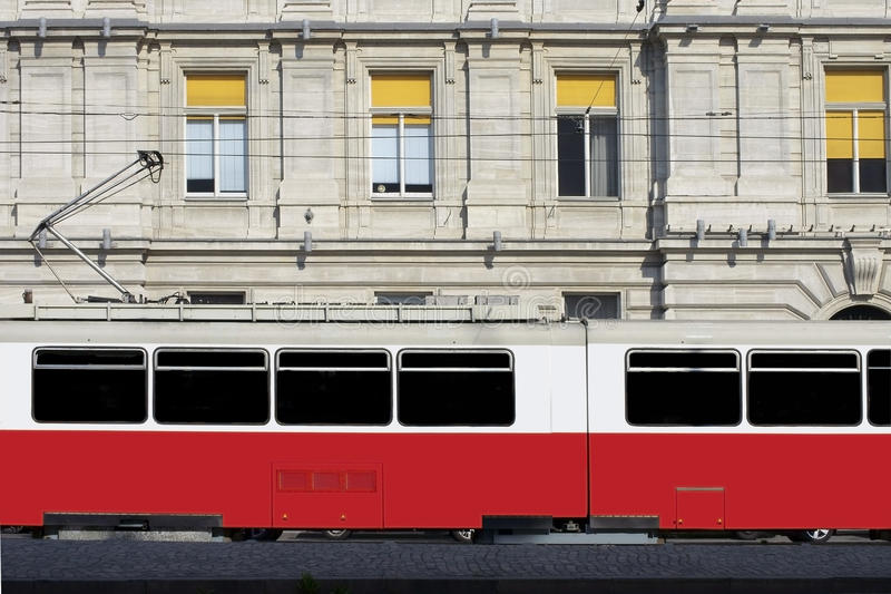 Tram de Vienne images libres de droits