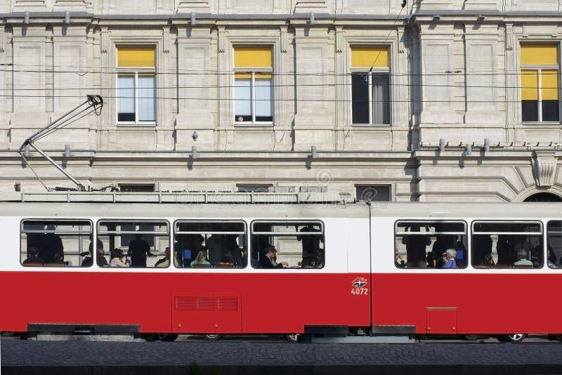 Tram de Vienne photos libres de droits