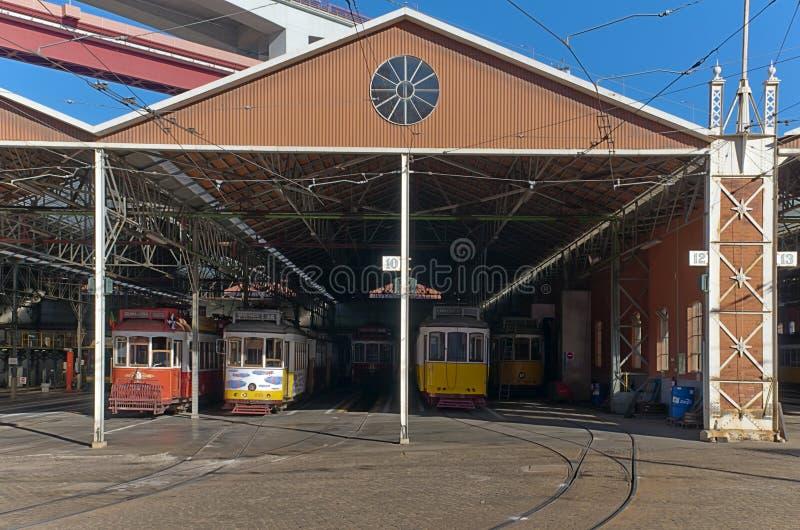 Tram Depot Editorial Photography