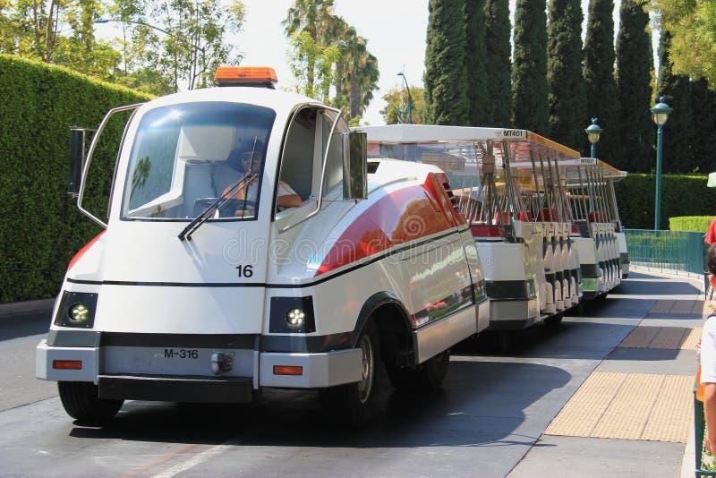 tram at disneyland editorial image image of destination 47577795. Black Bedroom Furniture Sets. Home Design Ideas