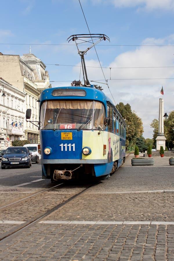 Free Tram In Arad, Romania Royalty Free Stock Photo - 103324755