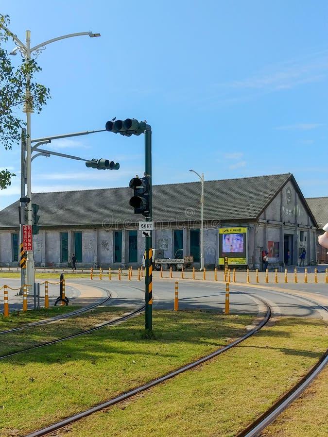 Tram Line stock photography