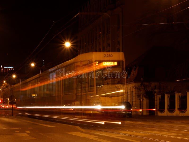 Tram Lodz immagine stock