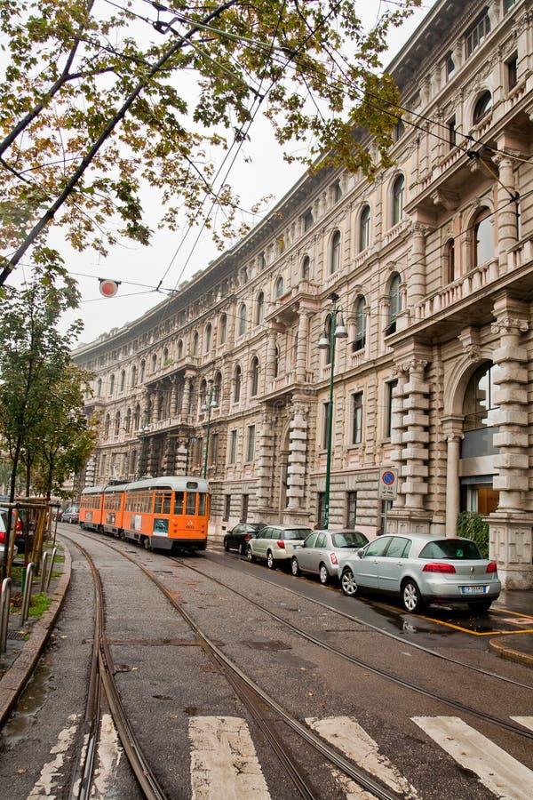 Download Tram in Milan editorial image. Image of historical, europe - 17863490