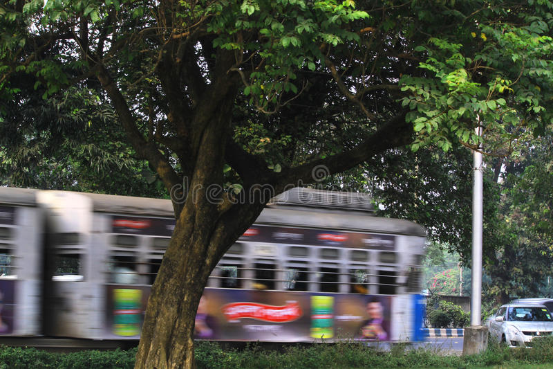 Tram ride stock photos