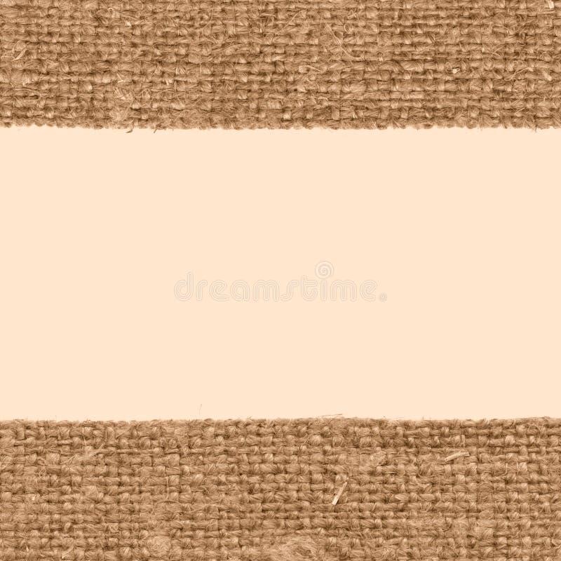 Trama de la materia textil, moda de la tela, lona arenosa, material de algodón, fondo pasado de moda fotografía de archivo