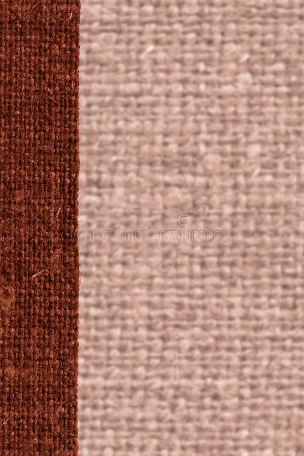 Trama de la materia textil, remiendo de la tela, lona del moho, material de la harpillera, fondo natural foto de archivo libre de regalías