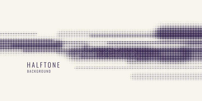 Trama monocromática de la impresión, fondo abstracto del tono medio del vector textura monocromática de puntos libre illustration