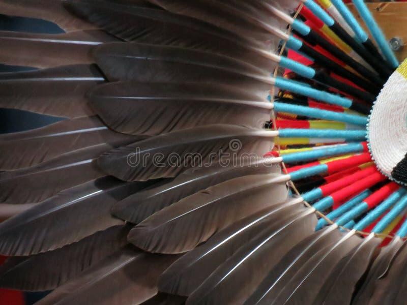 Trambusto del nativo americano fotografia stock libera da diritti