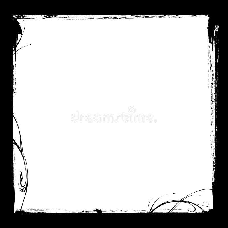 Trame à l'encre noire illustration libre de droits