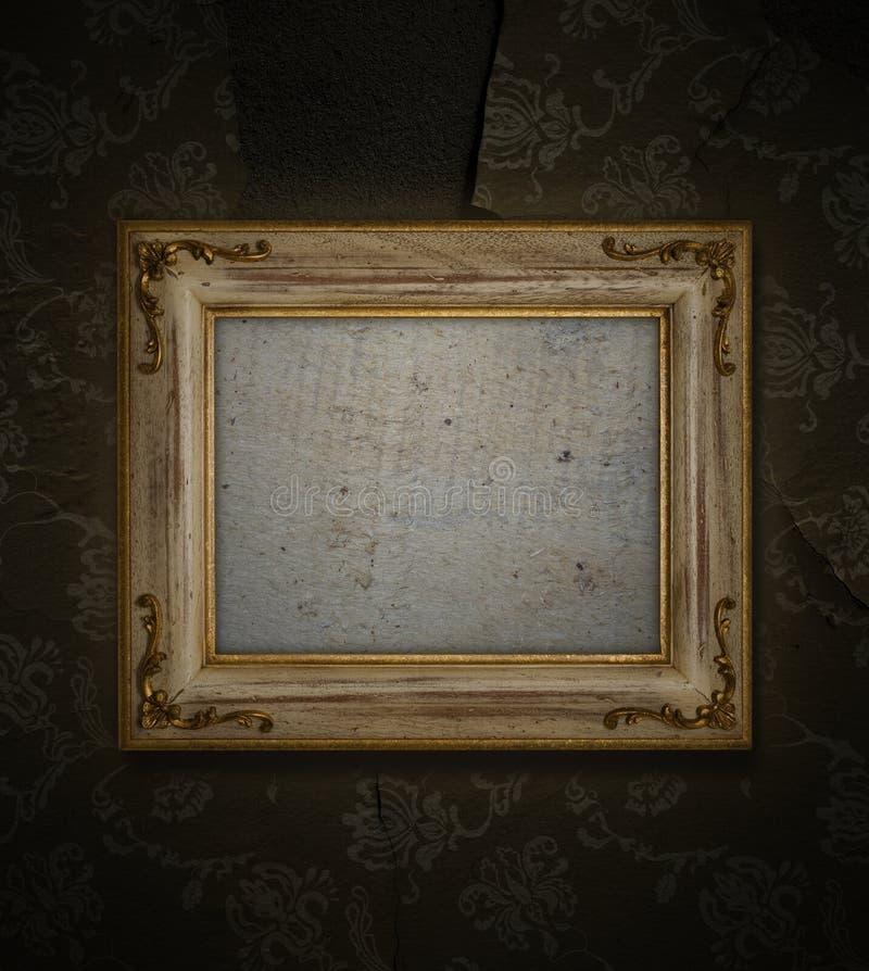 Cadre antique photographie stock