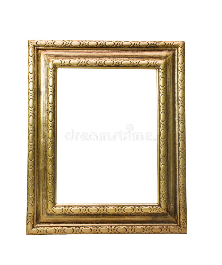 Trame antique d'or photographie stock