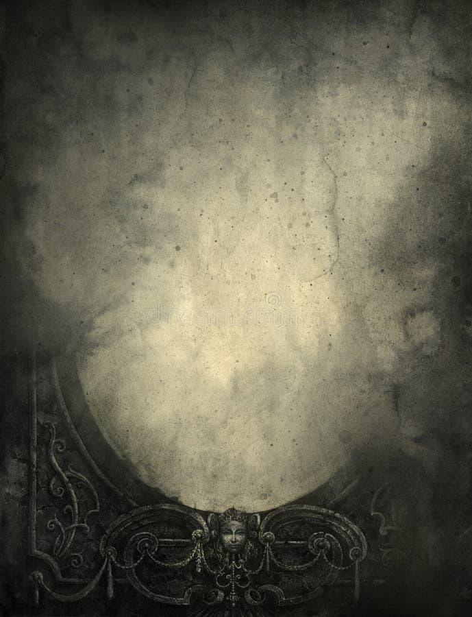 Trame baroque illustration de vecteur