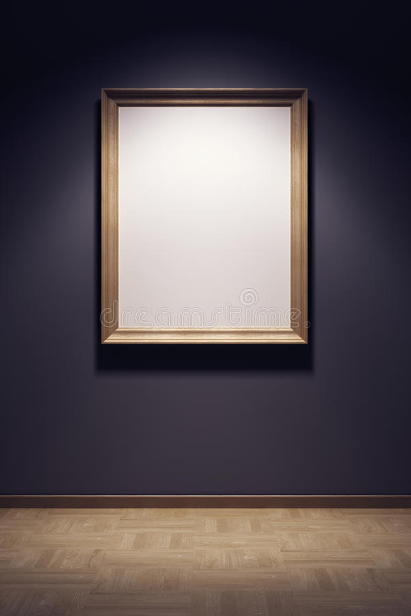 Trame blanc dans la rampe illustration de vecteur