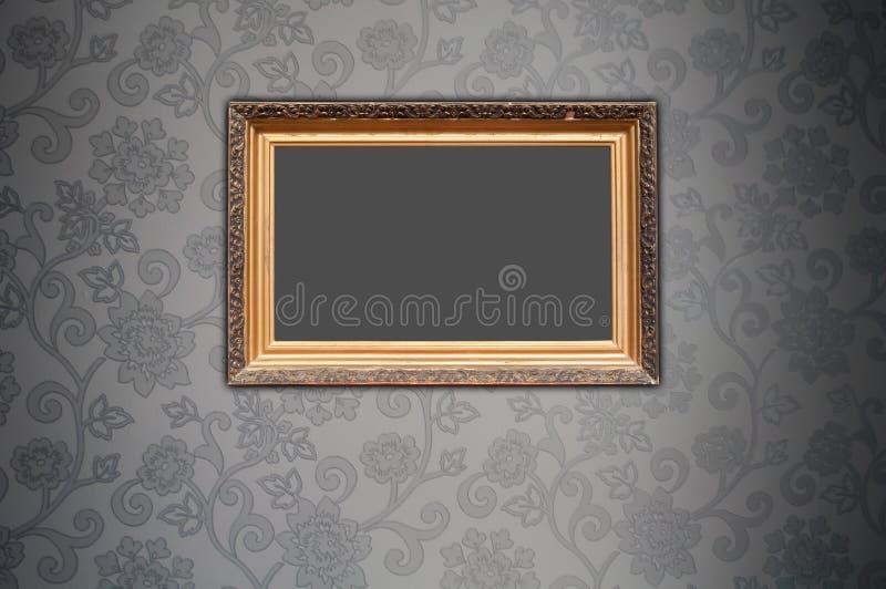 Trame blanc sur le papier peint décoratif photographie stock libre de droits