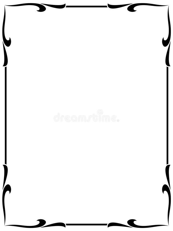 Trame décorative   illustration libre de droits