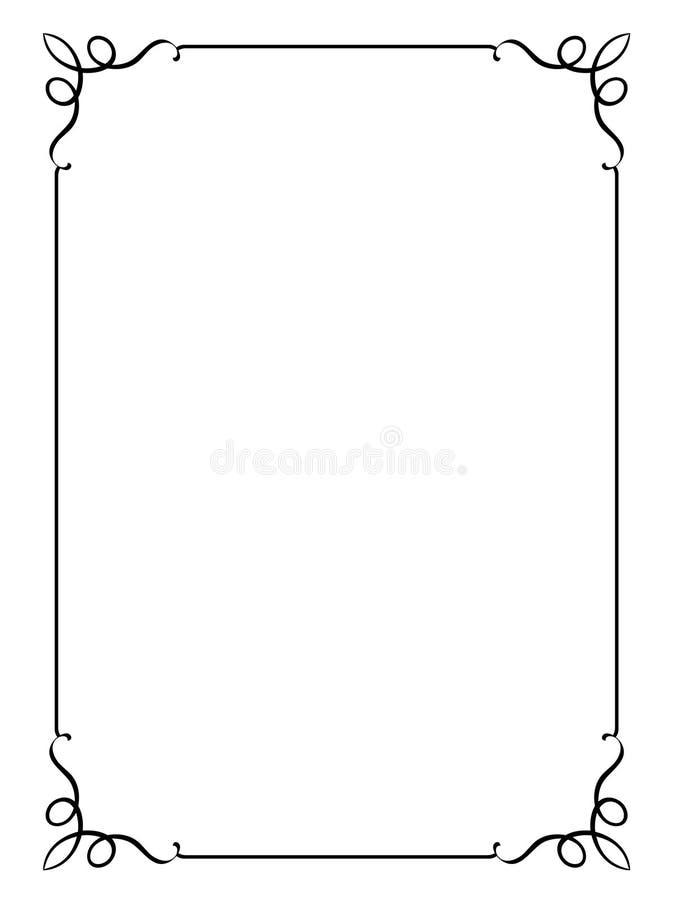 Trame décorative. JPG et ENV illustration stock