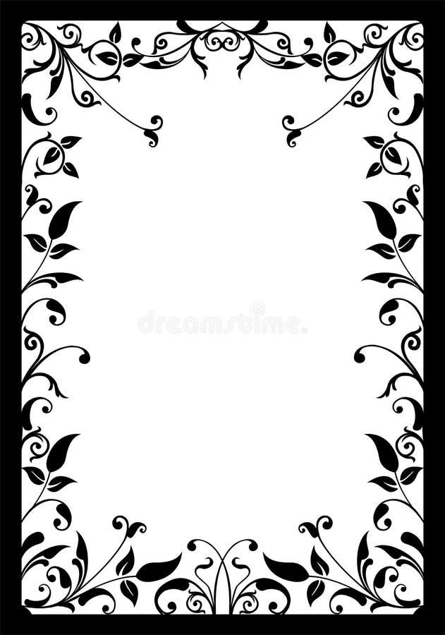 Trame décorative, vecteur illustration stock