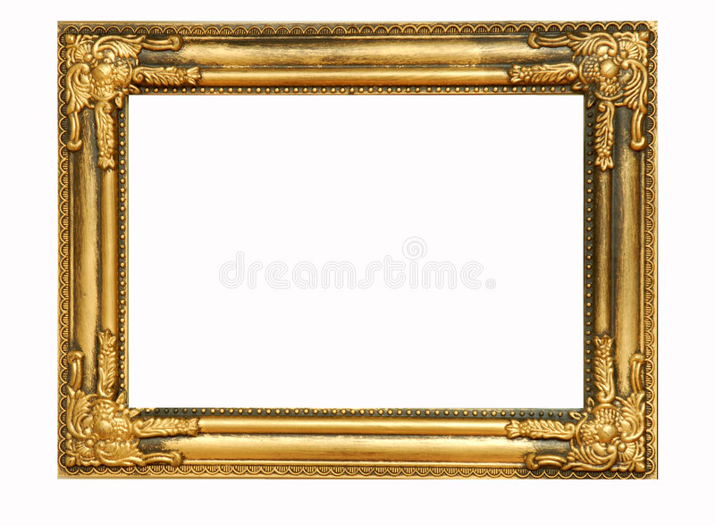 Trame d'or #4 photo stock