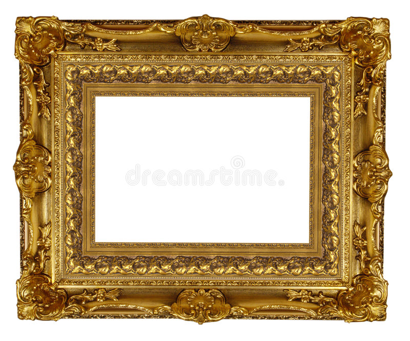 Trame d'or images libres de droits