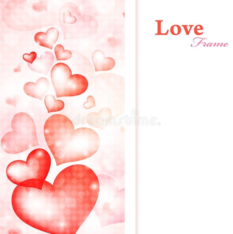 Trame d'amour illustration libre de droits