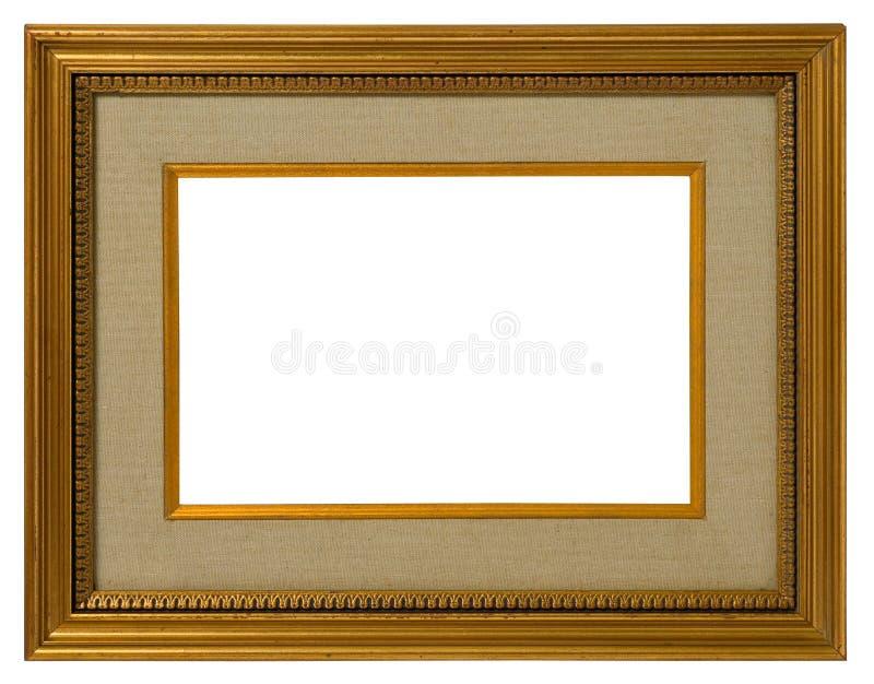 Trame d'or antique. photographie stock libre de droits