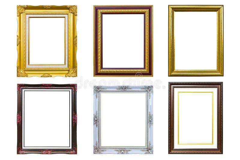 Trame d'or d'image de photo de type antique images stock