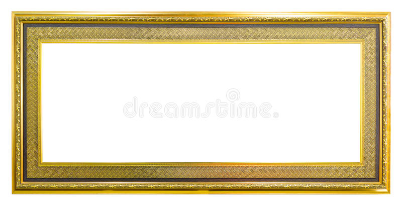 Trame d'or d'image de photo de type antique photo libre de droits