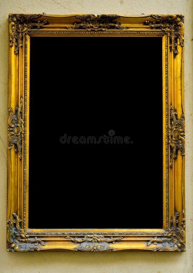 Trame d'or de cru photo libre de droits