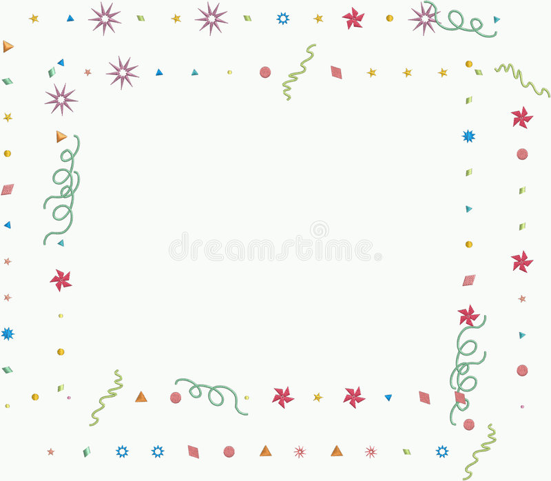 Trame d'an neuf heureux illustration stock