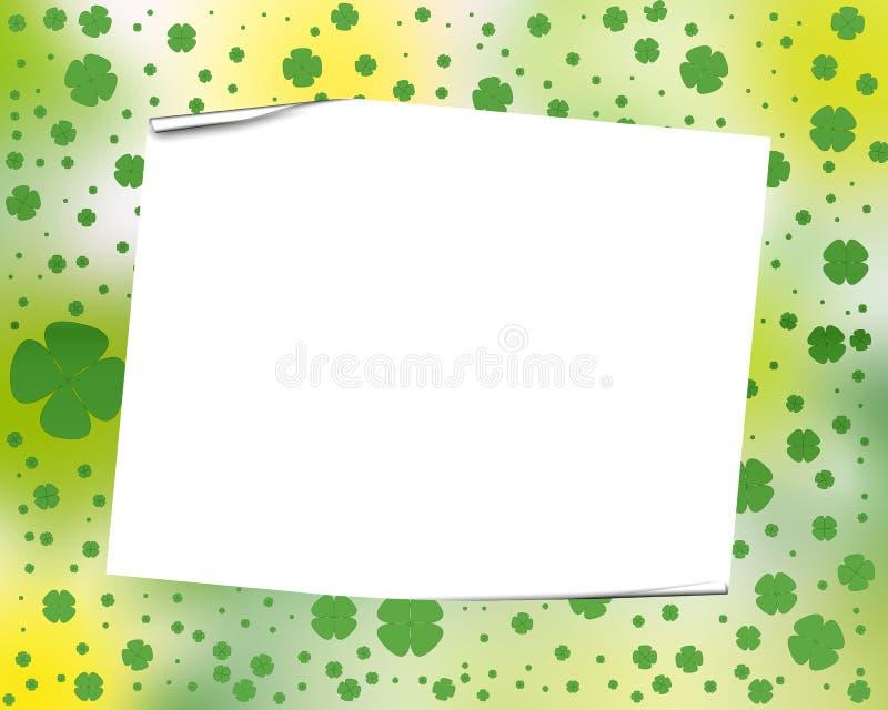 Trame d'oxalide petite oseille illustration stock
