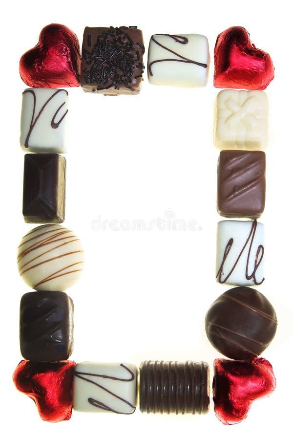 Trame de chocolat photo stock