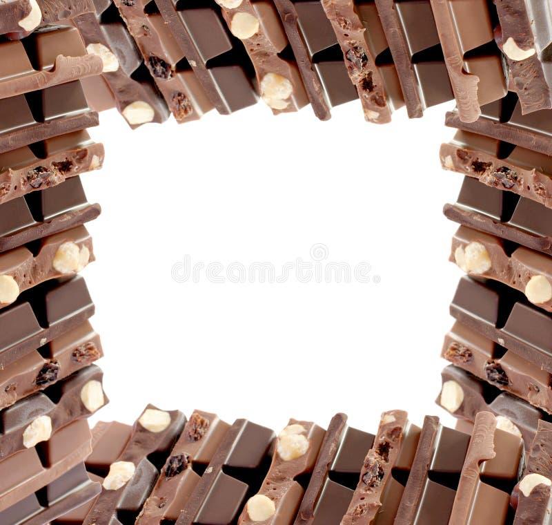Trame de chocolat photos libres de droits