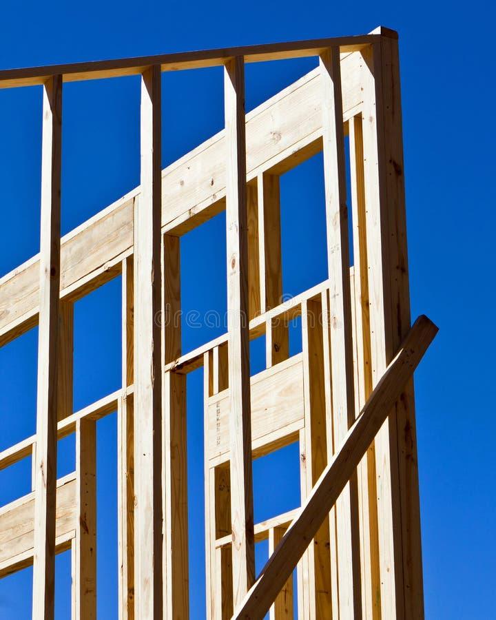 Trame de construction photographie stock libre de droits