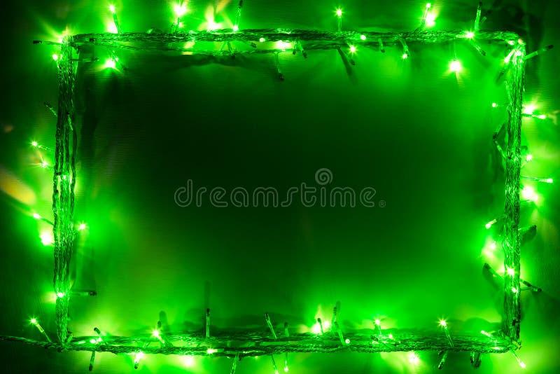 Trame de feux verts images libres de droits