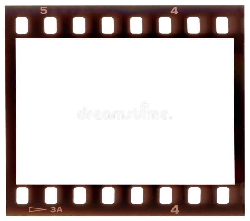 Trame de film photo stock