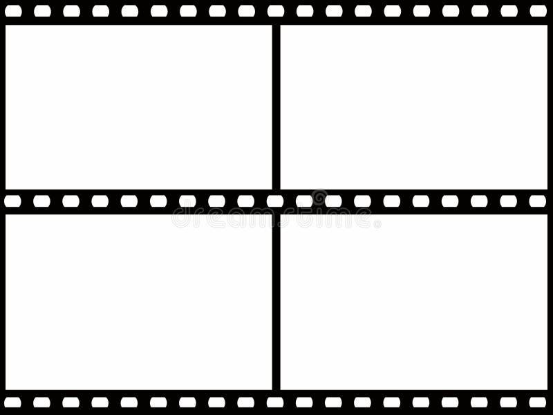 Trame de film illustration stock