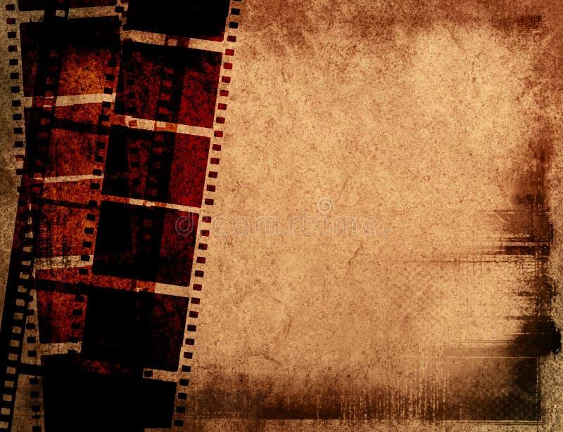 Trame de film grande illustration libre de droits