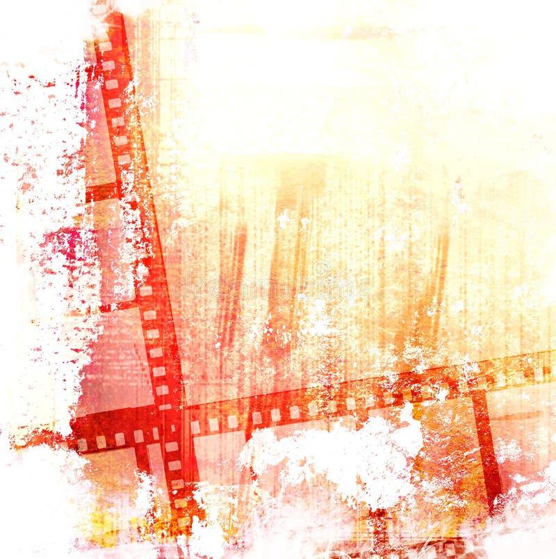 Trame de film grande illustration de vecteur