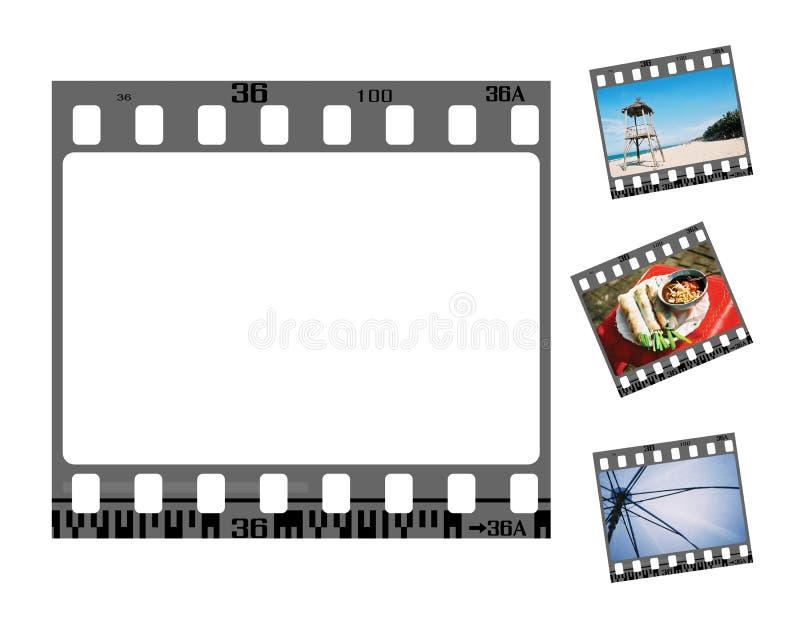 Trame de film négatif image stock