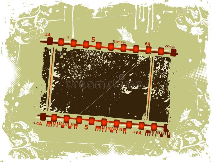 Trame de film photographique illustration libre de droits
