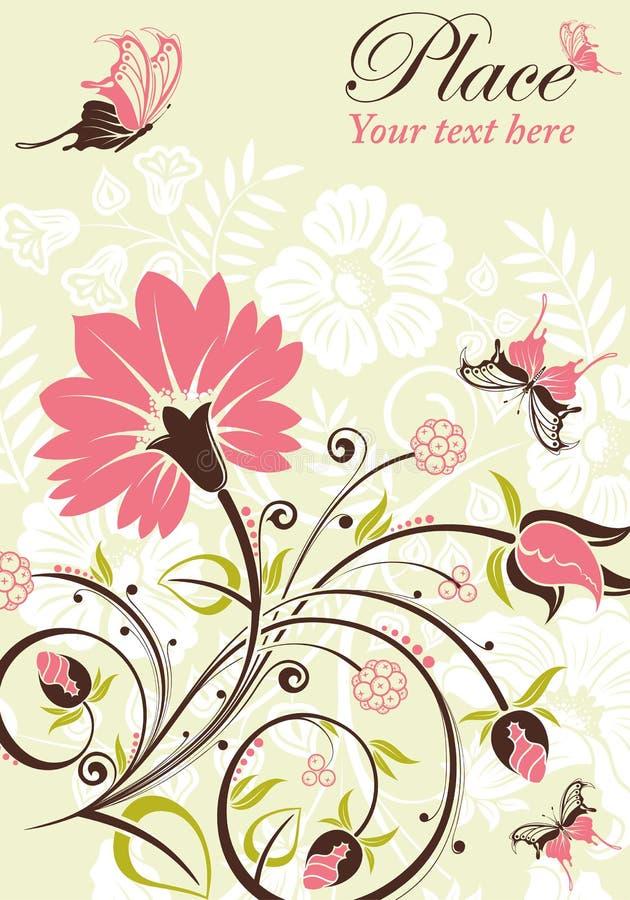Trame de fleur illustration de vecteur